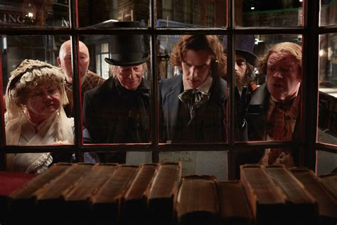the man who invented christmas gets scribbler and scrooge right the star