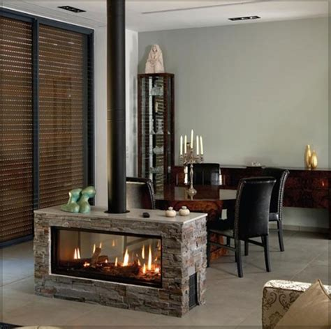 smokeless fireplace is fit to modern house