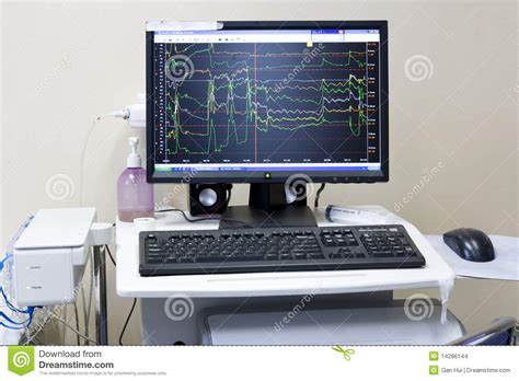 Science Computer In Hospital 2 Stock Images   Image: 14286144