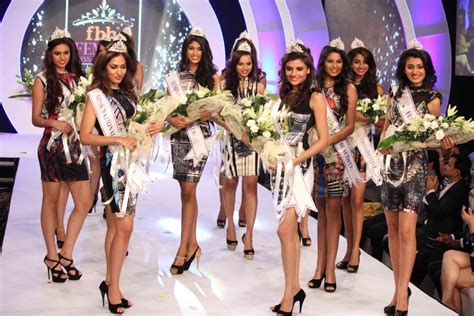 competition india 2014 results femina miss india 2014 sub contest results announced