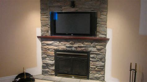 Shelf Above A Fireplace by Tv Above Fireplace Ask Home Design