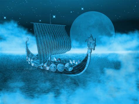 viking longboat wallpaper viking ghost longboat fantasy abstract background