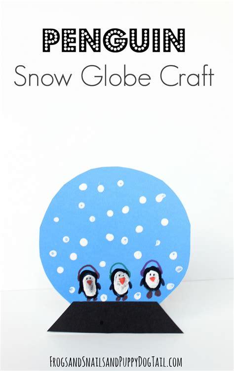 snow globe craft for penguin snow globe craft for fspdt