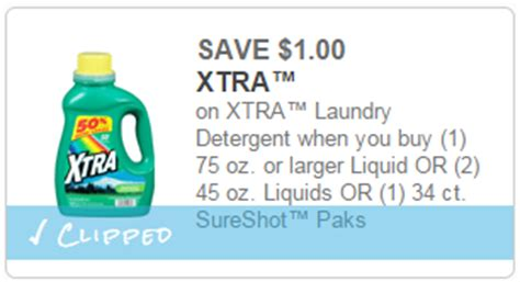printable xtra coupons 1 00 1 xtra laundry detergent dollar general deal