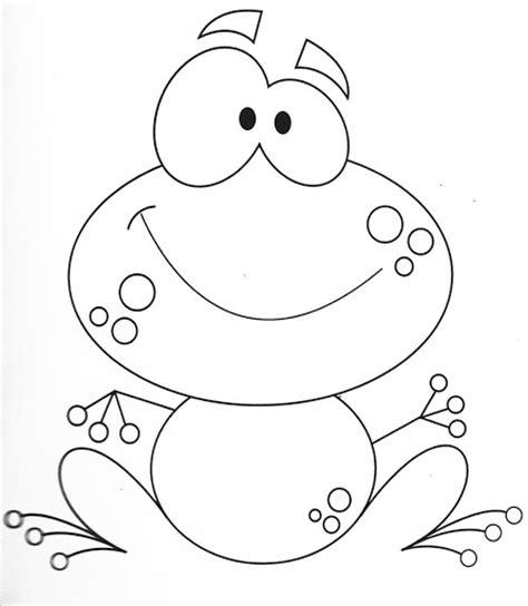 imagenes de sapos faciles para dibujar dibujos para colorear de sapos infantiles imagui