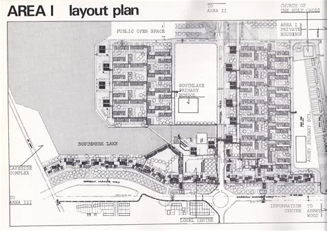 Layout Planning Jobs London | original plans and images from the thamesmead housing