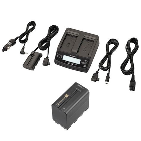 Baterai Sony Np F970 Info Lithium Battery 6300mah Utk Sd1000e Dll sony ac adapter charger and np f970 info lithium