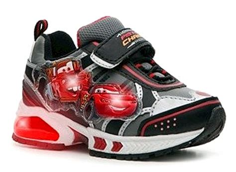 cars light up shoes disney d fit cars 2 light up sneakers kid s black