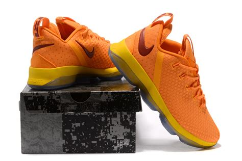 low top basketball shoes for sale cheap nike lebron 14 low cavs bright yellow basketball