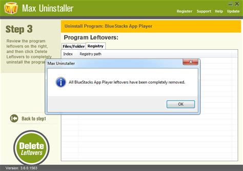 bluestacks notification center how to remove bluestacks without any leftovers