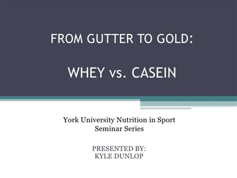 Curve Whey Protein casein vs whey