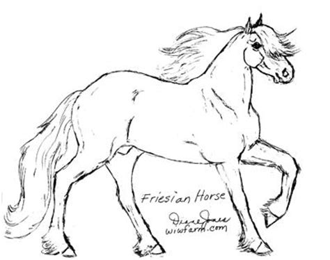 coloring pages of friesian horses friesian horse coloring pages coloring pages