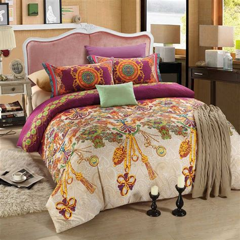 Violet Bedding Sets Violet And Gold Floral Bed Set Ebeddingsets