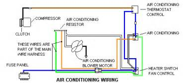 Car Ac Electric Diagram Mattsoldcars Technical Information Wiring Diagrams