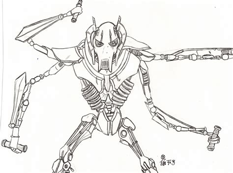 star wars general grievous by lionofdemise on deviantart