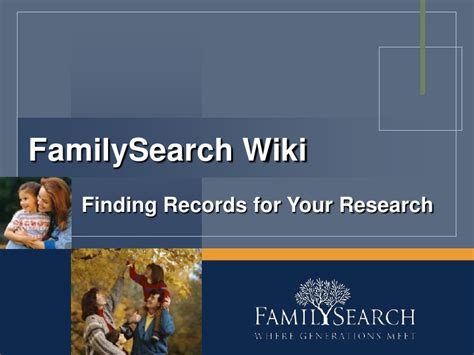 Finding Records Familysearch Wiki Finding Records For Your Research