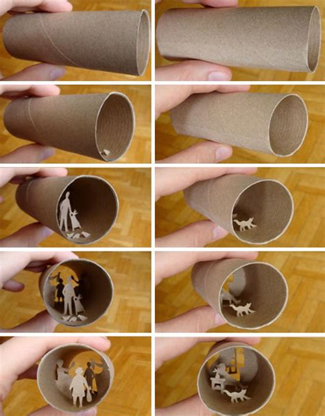 Crafts With Toilet Paper Roll - creative from toilet paper roll paperise 2012