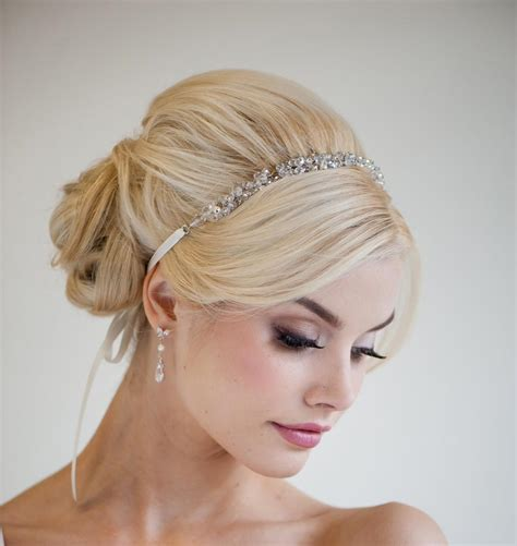 wedding hair updo with headband wedding hairstyles in 2019 bridal hair hairstyles