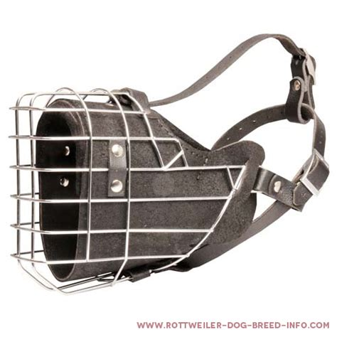 rottweiler cage size fully padded strong wire cage rottweiler muzzle for agitation