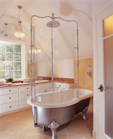 clawfoot tub bathroom designs pictures to pin on pinterest choosing your bed and bath style