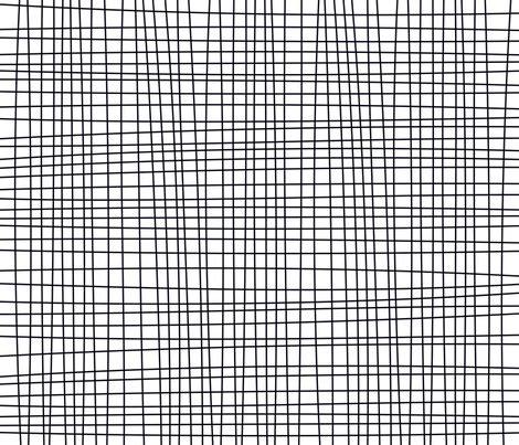 black and white grid pattern fabric irregular black and white grid lines fabric