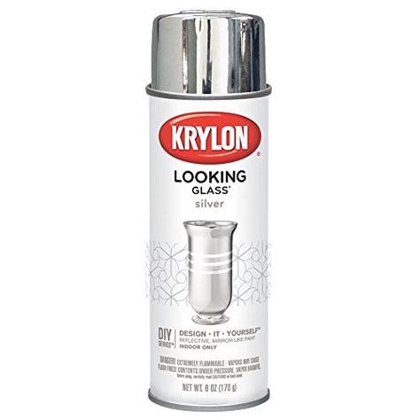 spray painter in dubai krylon looking glass silver like aerosol spray paint 6 oz