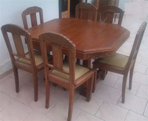 table salle a manger occasion table hexagonale 6 chaises clasf