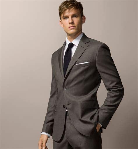 ropa de hombre 2016 tendencias trajes hombre 2016 sarga gris modaellos com