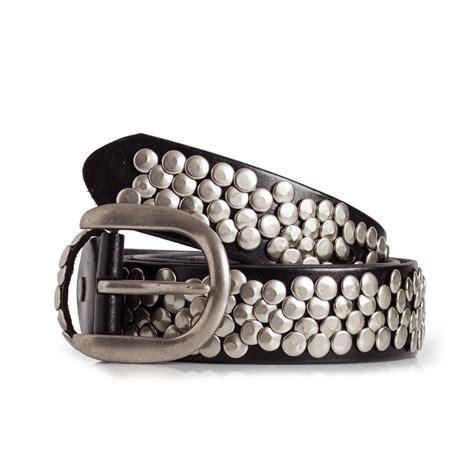 Studded Belt studded belt medium width sizes 28 42in laticci