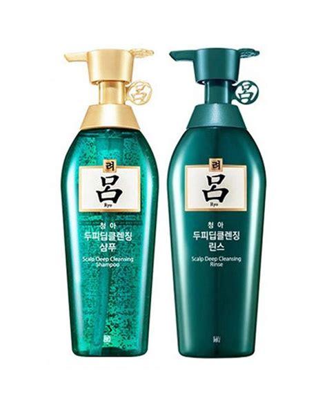 ryeo ryo chung ah mo shampoo conditioner  oily hair