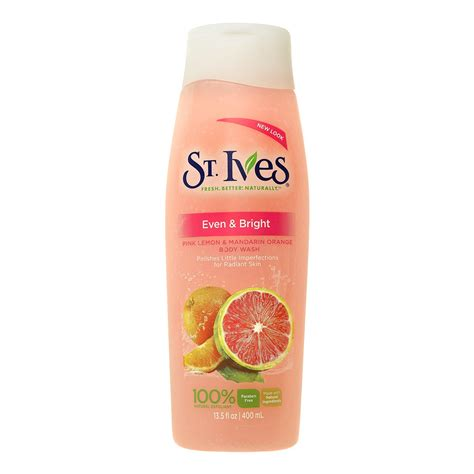 St Ives Even And Bright Pink Lemon And Mandarin Orange Wash 24oz st ives even bright pink lemon mandarin orange wash review