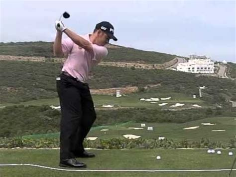 louis oosthuizen swing vision louis oosthuizen golf swing down the line golf videos