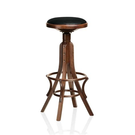 bent wood bar stool barstool in beech curved wood for pubs and bars idfdesign