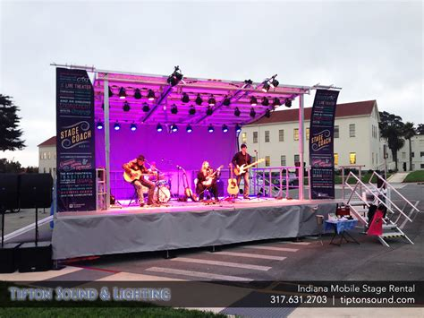 stage lighting rental chicago mobile stage sound and lighting lighting ideas