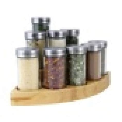 Corner Spice Shelf Gsr1719 Corner 8 Jar Wooden Spice Rack Spice Racks