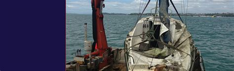 boat salvage auckland moorings and marine home