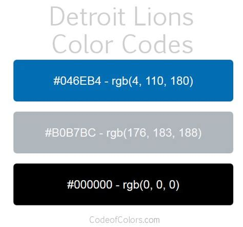 lions colors 1000 ideas about detroit lions colors on