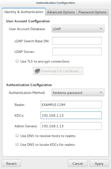 tutorial kerberos linux authentication configuration window linux rootusers