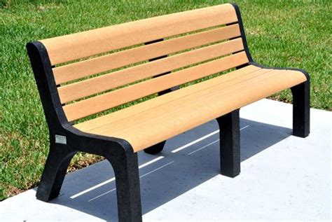 composite garden bench 87 best images about eco wood bench on pinterest