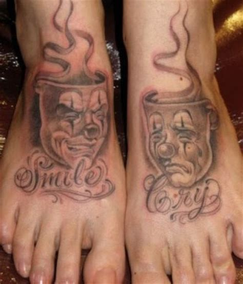 cry now laugh later tattoo designs laugh now cry later tattoos page 3