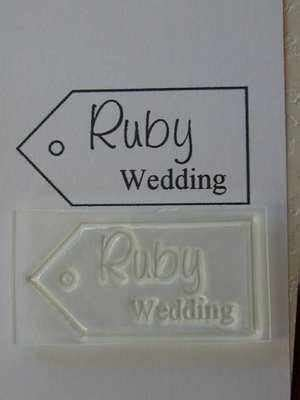 wedding anniversary levels ruby anniversary tag st