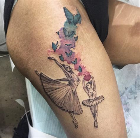 ballerina tattoo 40 wonderful ballerina dancer designs tattooblend