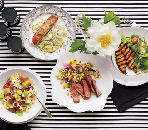 dinner party ideas 4 easy dinner party recipes real simple