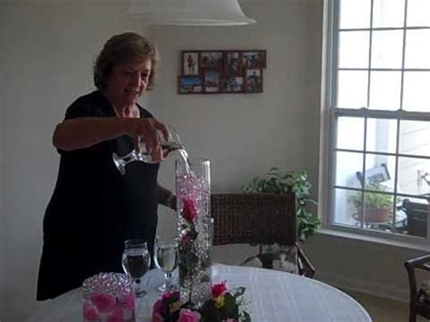 Gel Beads For Vases Beautiful Underwater Flower In Vase With Water Beads Youtube