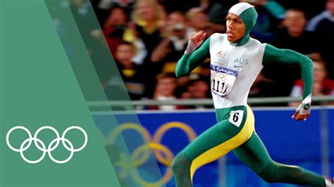 to the olympics cathy freeman wins 400m gold on this day september 25
