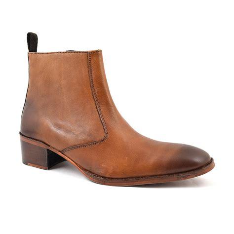 shop cuban heel boots gucinari beatle boots
