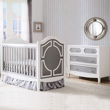 Convertible Crib And Dresser Set by Simmons 2 Nursery Set Convertible Crib