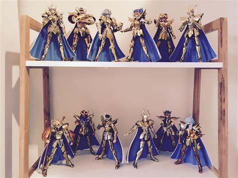 Seiya Gold Figure Set Isi 6 seiya gold saints ex what s your favorite cloth armor saintseiya