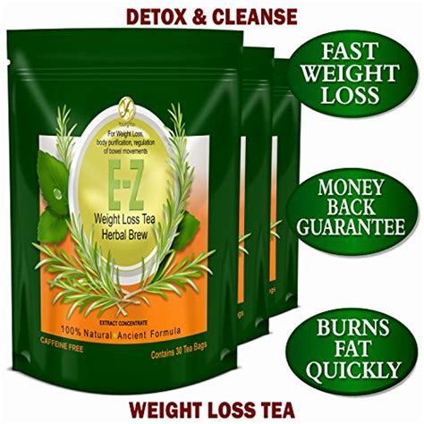 Z Detox by E Z Detox Diet Tea For Weight Loss Appetite