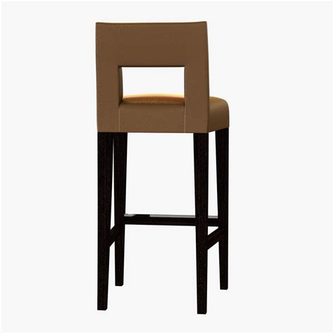 bar stool companies sofa and chair company hugo bar stool 3d model max obj 3ds